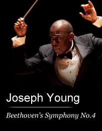 Joseph Young Conducts Beethoven's Symphony No. 4