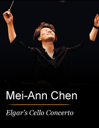 Mei-Ann Chen Conducts Elgar's Cello Concerto