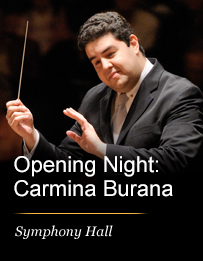 Opening Night: Tito Muñoz Conducts Carmina Burana