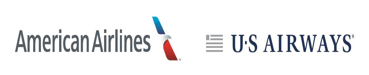 American US Airways update logo