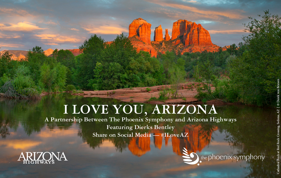 I love you, Arizona.  Click to view video.