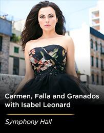Carmen, Falla & Granados