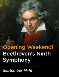 Opening Night: Beethoven's Symphony No. 9