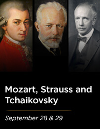 Mozart, Strauss and Tchaikovsky