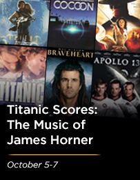 Titanic Scores: The Music of James Horner