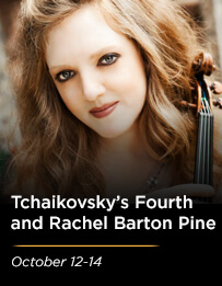 Tchaikovsky's Fourth and Rachel Barton Pine