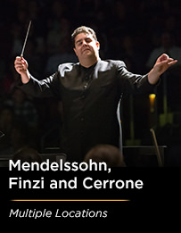 Mendelssohn, Finzi and Cerrone