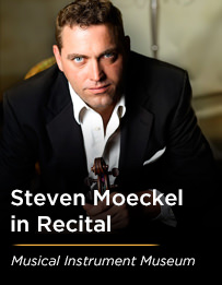 Steven Moeckel in Recital