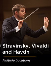 Stravinsky, Vivaldi and Haydn