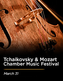 Tchaikovsky & Mozart 3/31/18