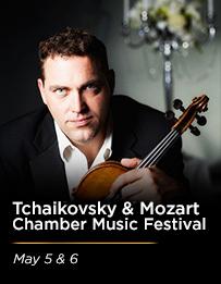 Tchaikovsky & Mozart May 2018
