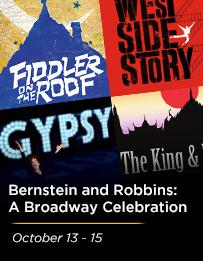 Leonard Bernstein and Jerome Robbins:  A Broadway Celebration