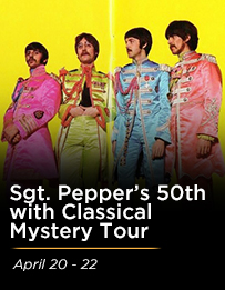Sgt. Pepper's 50th Anniversary with Classical Mystery Tour